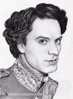 Georg Thauern as Ludwig II. by Rosentod