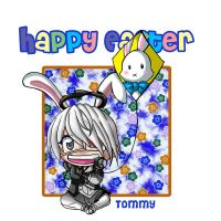 Happy Easter Tommy by Psy-CHO-Aoi