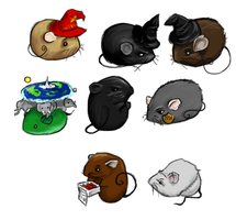 Discworld Mice by Tanken