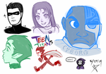 TEEN TITANS! by ArtisticMii