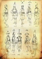 Imperial Troops and Cavalry by GeneralVyse