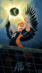 Fly, Karasuno! Prints Available by Gryphon-Shifter