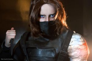 COSPLAY - Winter Soldier II by MarineOrthodox