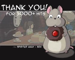 Spirited Away - Thanks by pika-bunny
