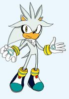 Silver the hedgehog by ss2sonic