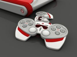 SonyPlayStation console Detail by TesserarT
