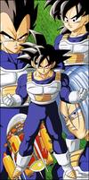 Dragon Ball Z - Saiyans by el-maky-z