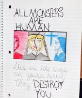 All monster are human- AHS by BlackKissu