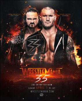 Wrestlemania / Fantasy Match / Drew vs Orton by tsgraphics