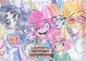 HAPPY BIRTHDAY, ARANTZA! by MLPloverDash