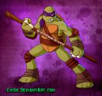 TMNT Donnie by Chiok