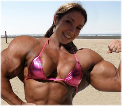 Muscle beach Megan by SuperGirlStrength