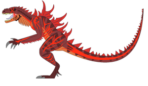Burning Godzilla by EliteRaptor2015