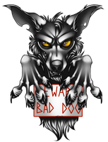 Bad dog by AFrozenHeart