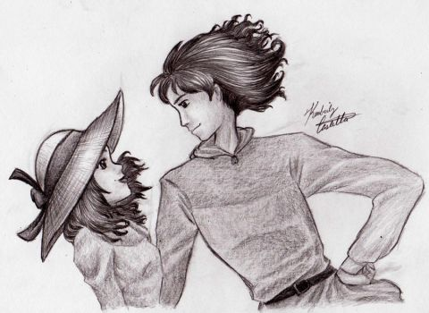 Howl's Moving Castle: by kimberly-castello