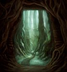 The Entrance to a Hidden Place by ChristianGerth