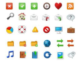 Elegant themes icon pack by FreeIconsFinder
