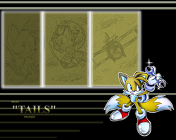 Tails wallapaper by Faezza