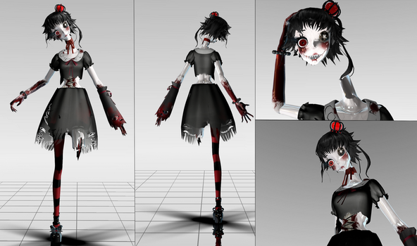 [MMD] Contest Entry ~Pediophobia~ by Steph-the-Bunny