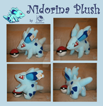 Nidorina Plush Commission by WolfPink