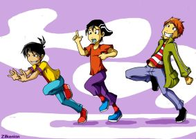 Ed Edd and Eddy by Zilkenian