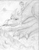 dragon - more scenery by silverwing24