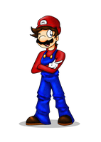 It's-a Me, Mario! by HamSamwich