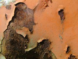 Old paint on metal 04 by laxative-stock