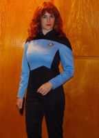Star Trek TNG Dr Crusher by AbsoluteApril