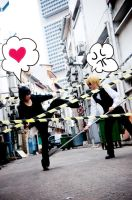 Durarara - Love is war by rinabyakuran
