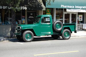1950s Willys Jeep Pickup Truck by Partywave