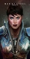 Faora ( Faora Hu-Ul ) Antje Traue by le0arts