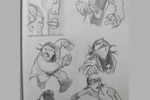 Doug TenNapel style studies 2 of 2 GIF by meandyouplay2