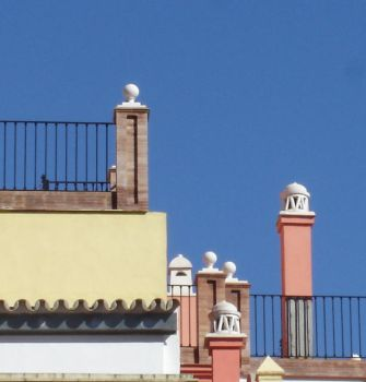 Seville rooftop by azahar-svq
