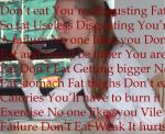 The Anorexia Voice by xoxdaisychainxox