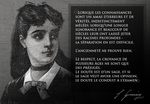 Quote - Sophie Germain, aged 14 by Mathemagic