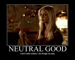 Neutral Good Buffy by 4thehorde