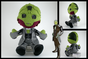 Mass Effect - Thane plushie by eitanya