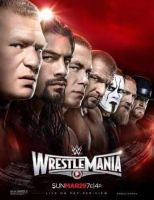 WWE WRESTLEMANIA 31 OFFICIAL POSTER by WWEARTHD