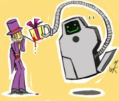 Superjail: Gift for the Warden by Uniformshark