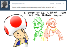 Ask Toad - Change? by pocket-arsenal