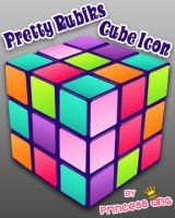 Rubik's Cube Icon by princessang2644