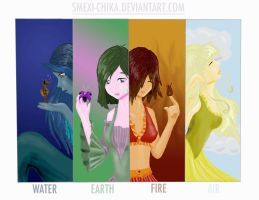 .::Elements::. by smexi-chika