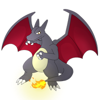 Shiny charizard by PKM-150