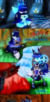 Protect my friends... or prehistory Night Angel by EngieTheCat