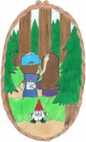 Dipper and Mabel 1 by Gee-94