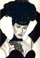 Miss Betty Page by toosmall772