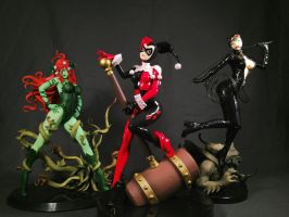 Gotham City Sirens by hierojux