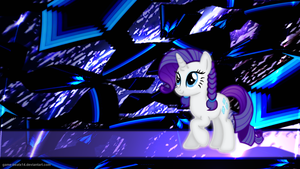 Rarity - Spacewalks and Pigtails by Game-BeatX14