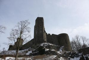 Stolpen old castle by Criosdan